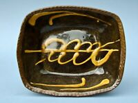 ATTRIBUTED MICHAEL CARDEW  SUPERB EARLY WINCHCOMBE POTTERY SLIPWARE BAKING DISH