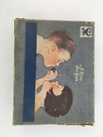 VINTAGE HERSHEY CHOCOLATE KISSes BOX NRA Member U.S. On Box A Kiss For You 1935