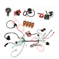 Electric Start Engine Wiring Harness Loom Kit for 110cc125cc Quad Bike ATV Buggy