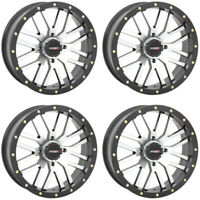 4 ATV/UTV Wheels Set 14in System 3 ST-3 Machined 4/110 5+2 IRS