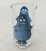 Vintage 1970's McDonald's Grimace Collector Series Drinking Glass