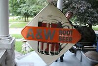 Large Vintage 1950's A&W Root Beer Soda Pop Restaurant 63