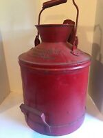 Vintage Standard Oil Can 5 Gallon 1930's Embossed
