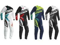 Thor MX Sector Blade Youth Jersey & Pant Combo Set ATV Motocross Riding Gear Kid