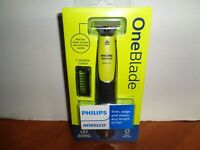 Philips Norelco OneBlade Hybrid Wet Dry Electric Trimmer Shaver w 2 Combs Sealed $28.95