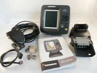 Humminbird 141c FishFinder w/ Transducer, Power cable & Mounting hardware
