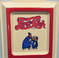 Pepsi-Cola Cops Embossed Tin Thermometer
