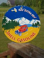 OLD 1932 SHELL GASOLINE 400