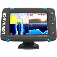 Lowrance Elite-7 Ti Touchscreen GPS Fishfinder with TotalScan Transducer