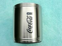 Genuine Coca Cola, Coke Rare C2 Stainless Steel Can/Bottle Cooler - Brand New !!