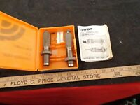 LYMAN AA RIFLE RELOADING 375 H&H HOLLAND AND HOLLAND MAGNUM FL 2 DIE SET W/ BOX