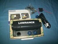 NEW Lowrance Elite 7 Chirp Fishfinder GPS 455 / 800 kHz Unused