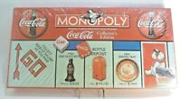 1999 Coca Cola Monopoly Collector's Edition Game w/ 8 Pewter Tokens