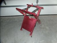 MOTORSPORTS PRODUCTS FOLDING ATV STAND RED HONDA TRX 250R 450R YFZ 450 LTR
