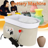 350W DIY Pottery Wheel Ceramic Machine Advanced Brushless Motor Clay Arts Grey