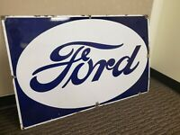 Ford Vintage Porcelain Sign- Beautiful Condition