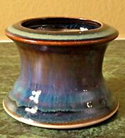 Bill Campbell Studio Pottery Candleholder Signed