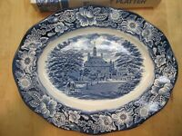 Staffordshire Liberty Blue 12