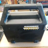 Humminbird Wide 100 Portable Fish Finder With Case NO Batteries Free Shipping