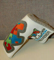 Scotty Cameron 2014 Club Cameron Puzzle Scotty Dog Putter Headcover