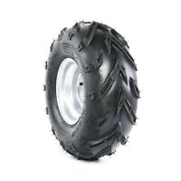 16x8-7 Tire Wheel Rim with Tyre Assembly for Quad Bike ATV Buggy Ride on Mowers