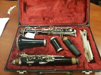 Evette Buffet Crampon Clarinet In Hardcase- Mouth Piece And Reeds