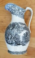 Staffordshire Transferware Large Pitcher - Neva - 1830