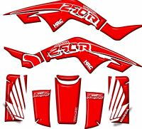 Honda TRX250R HRC Graphics Kit Fenders Plastics Decals Stickers 250R ATV trx Red