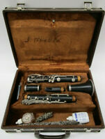 Vintage HENKIN USA Bb Clarinet  With Artley Hard Case Good Condition