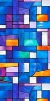 STAINED GLASS PROLINE WINDOW FILM ATTRACTIVE DECORATIVE COLOR TINT 36