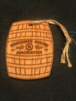 2019 Tennessee Squire Jack Daniels Whiskey Barrel Christmas Ornament Rare