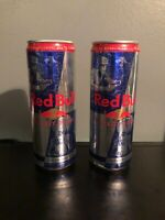 2 Destiny Promotional Red Bull Energy Drink 12 FL Oz -RARE- DISCONTINUED-