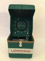 Vintage Lowrance Fish Lo K Tor LFP 300D Depth Finder Green