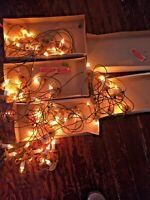 5 Boxes Christmas Merry Midgets Candle Brights Tree Lights GE General Electric