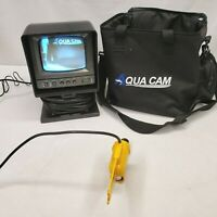 Aqua Cam Underwater View Camera Fish Finder ACUW-502 VU Ice Fishing Sys - TESTED