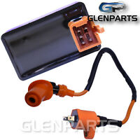 5 Pin CDI box Ignition Coil for 50cc-150cc 4 Stroke Engine Scooters Mopeds ATVs