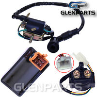 Relay Solenoid CDI Box Ignition Coil for Buyang Jonway SUNL 50cc-150cc Quad ATVs