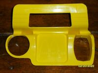 *RARE* McDonald's Yellow Plastic Car Drive-In Window Food Snack Tray  1980,s