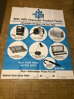 1970 Chevy Dealer Poster Prize Giveway Large Nos