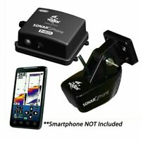 Boat GPS Fishfinder Phone Compatible Sonar Apple IOS Android WIFI Install Pack