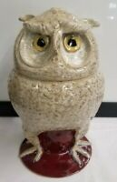 Marvin Bailey Indigenous Southern Primitive Folk Art Pottery Figural Owl Jug