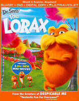Dr. Seuss The Lorax Universal Blu ray Disc Only $8.09