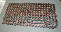 200 Used Vintage bottle Pepsi Cola caps cork back Pop Art Upcycling Folk Art