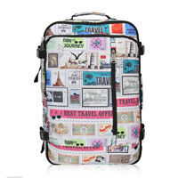38L Stamps Travel Weekend 20'' Convertible Backpack Carry On Luggage Holdall Bag