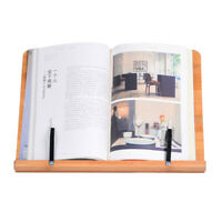Multifunctional Book Stand Large Book Holder W/Adjustable Foldable Tray US Stock