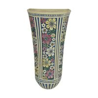 Weller Pottery Florala Colorful Wall Pocket