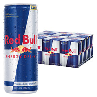 NEW Red Bull Energy Drink, 8.4 Fl Oz 24 Count FREE SHIPPING !!