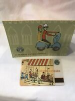 Rare Starbucks ** VESPA ** 2002- Gift Card - Vintage With Sleeve