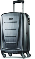 Samsonite Winfield 2 Hardside Expandable Luggage with Spinner Wheels Charcoal
