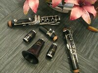 Brand New Andino Intermediate Wood Clarinet, Perfect For School Bands MSRP $1248